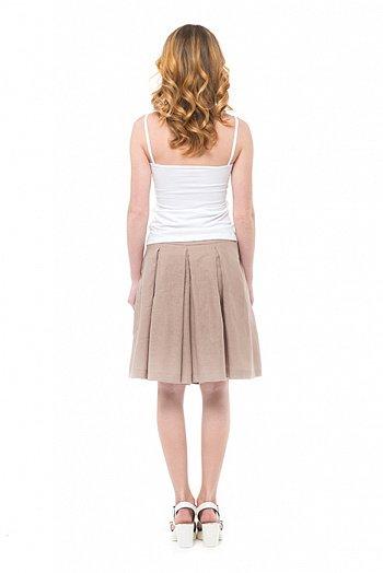 Фото 6 - Шорты-юбка льняные женские.