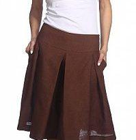 Фото 13 - Шорты-юбка льняные женские.