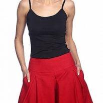 Фото 12 - Шорты-юбка льняные женские.