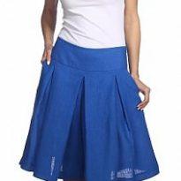 Фото 17 - Шорты-юбка льняные женские.