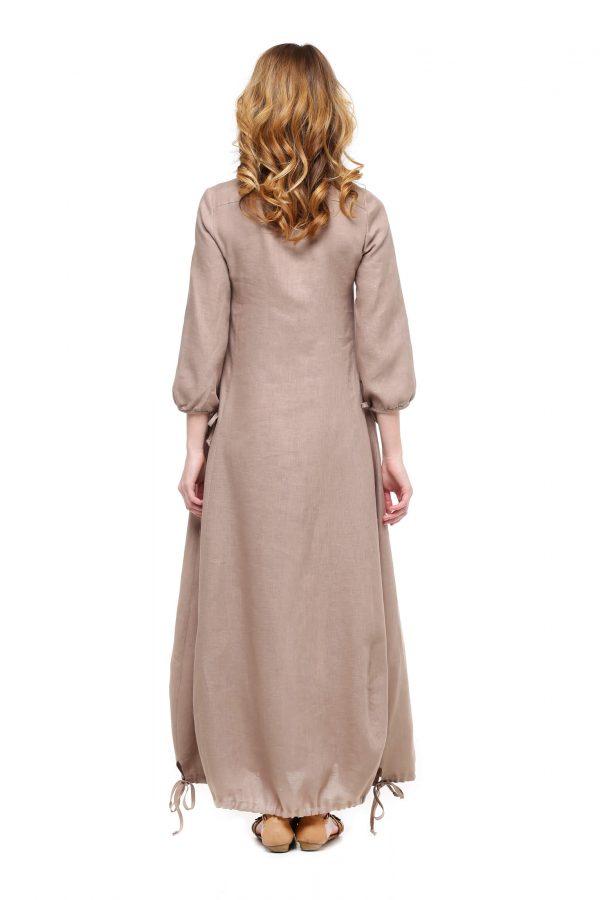 Фото 27 - Платье с кулиской по линии низа.