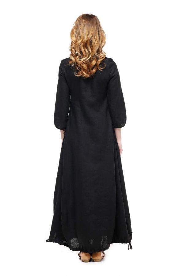 Фото 25 - Платье с кулиской по линии низа.