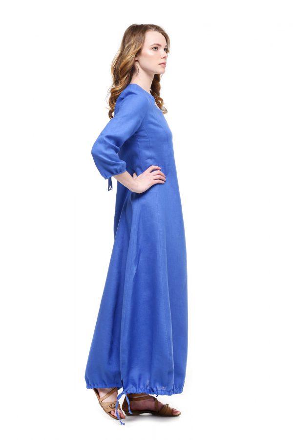 Фото 17 - Платье с кулиской по линии низа.