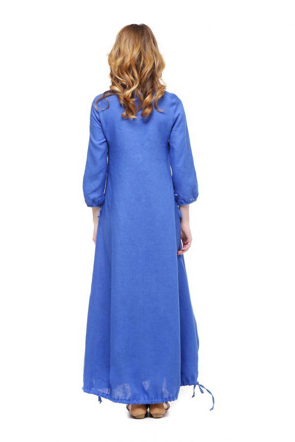 Фото 16 - Платье с кулиской по линии низа.