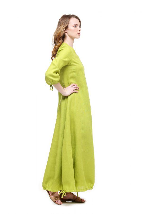 Фото 14 - Платье с кулиской по линии низа.