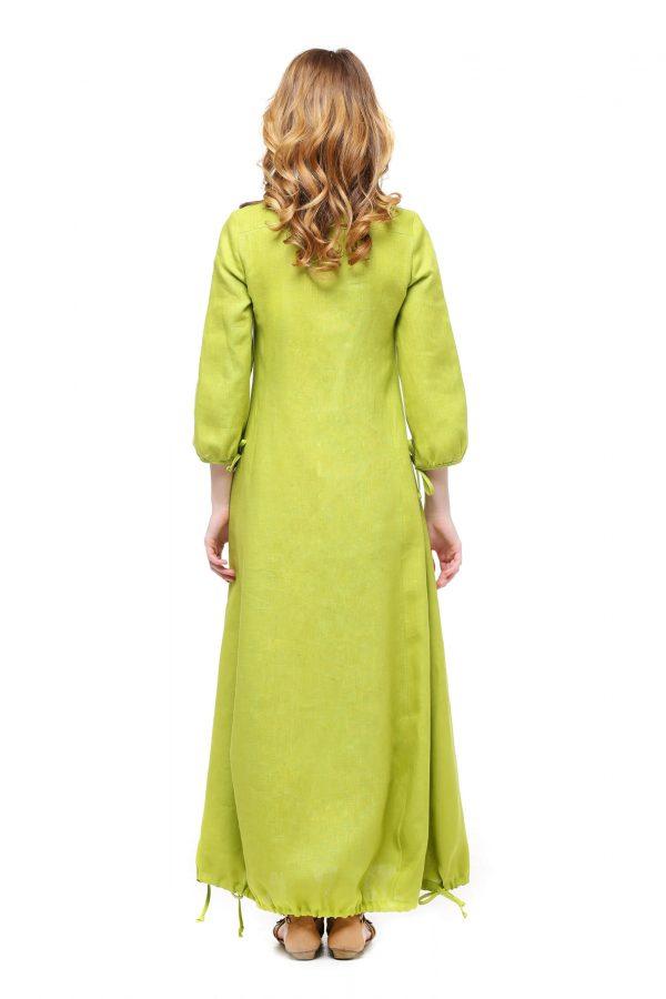 Фото 13 - Платье с кулиской по линии низа.
