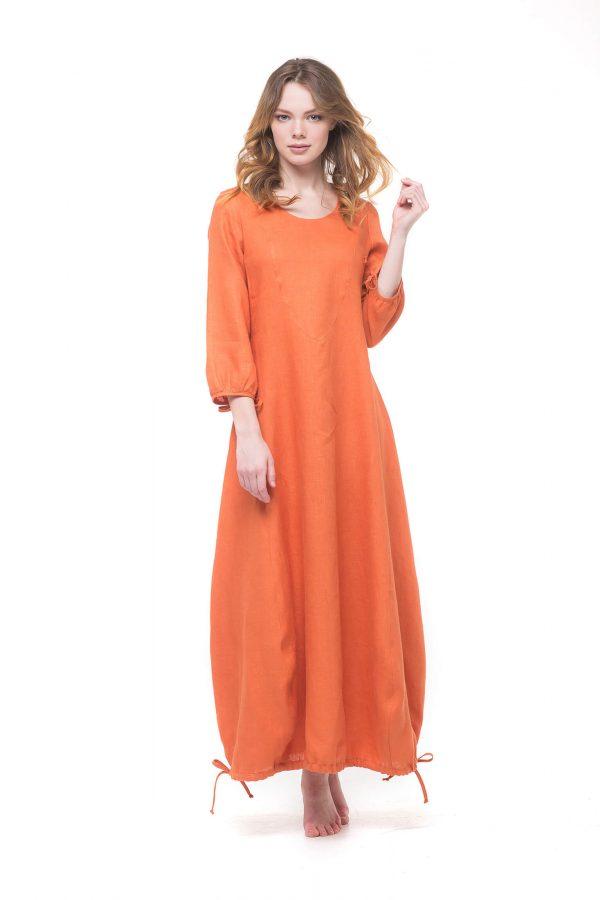 Фото 10 - Платье с кулиской по линии низа.