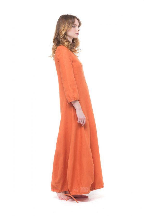 Фото 9 - Платье с кулиской по линии низа.