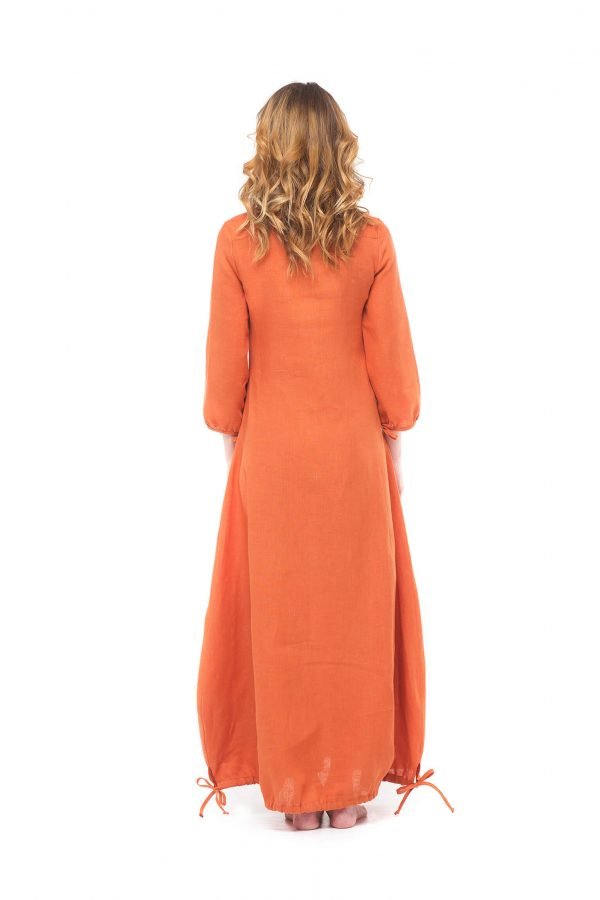 Фото 8 - Платье с кулиской по линии низа.