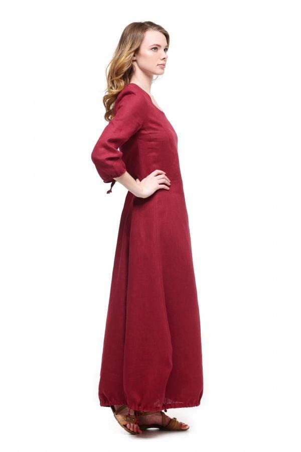 Фото 6 - Платье с кулиской по линии низа.
