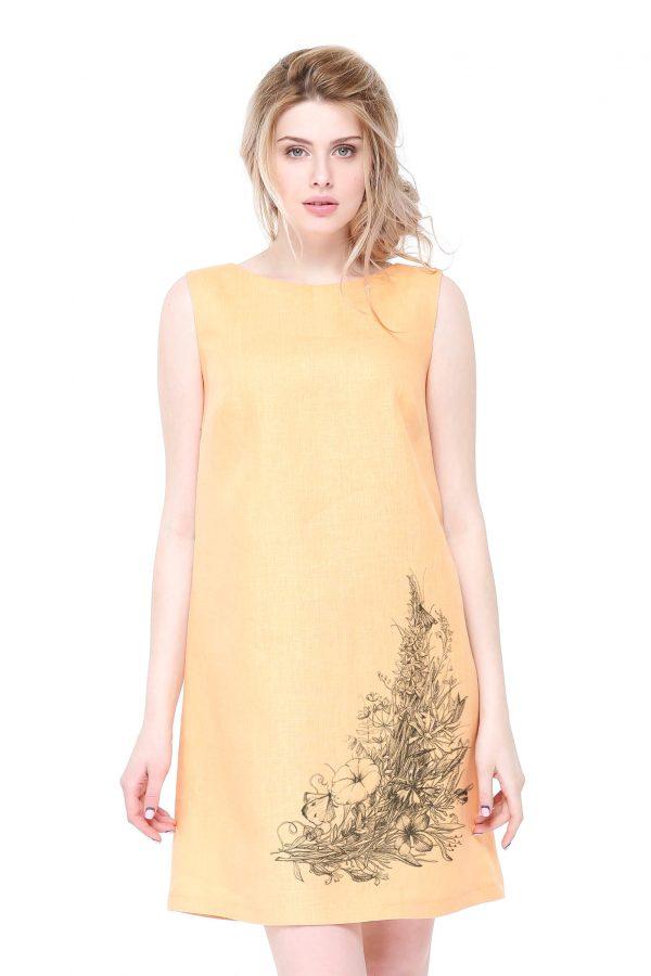 Фото 18 - Платье льняное базовое.