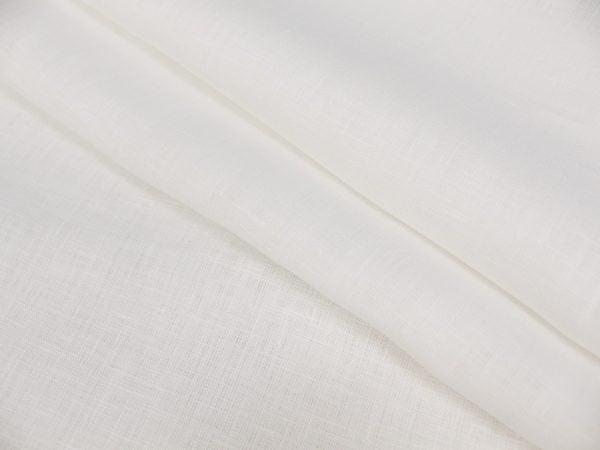 Фото 3 - Льняная ткань отбеленная ширина 220 см, лен 100%.