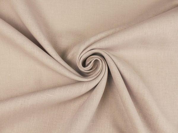 Фото 7 - Ткань льняная умягченная цвета пепельной розы.
