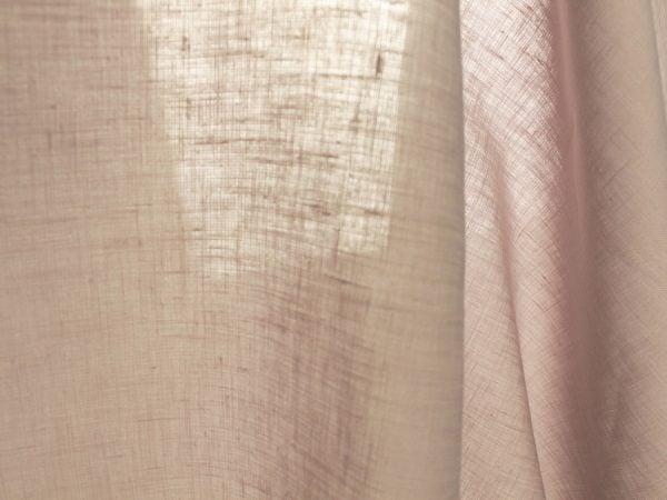 Фото 5 - Ткань льняная умягченная цвета пепельной розы.