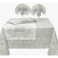 """Фото 21 - Комплект столовый """"Эсмеральда """" 100% лен."""