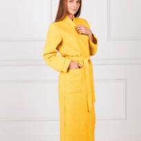 Фото 16 - Женский вафельный халат с планкой.