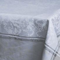 """Фото 14 - Скатерть """"Версаль"""" цв. голубой."""