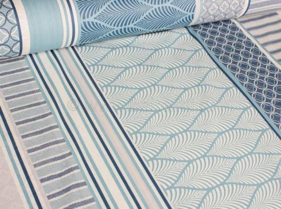 """Фото 13 - Ткань для постельного белья """"Лазурная"""" ширина 220 см."""