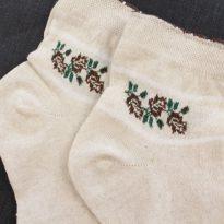 Фото 18 - Носки женские лечебные, лен и крапива слабая резинка.