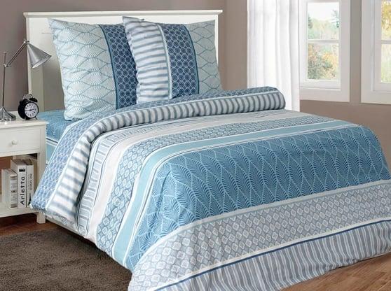"""Фото 12 - Ткань для постельного белья """"Лазурная"""" ширина 220 см."""