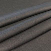 Фото 18 - Ткань лен 100% темно-серый (графит).