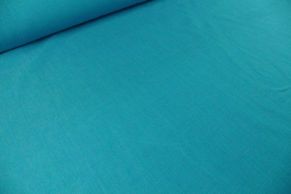 Фото 4 - Ткань льняная, ширина 260 см, лён 100 % бирюзовая меланжевая.