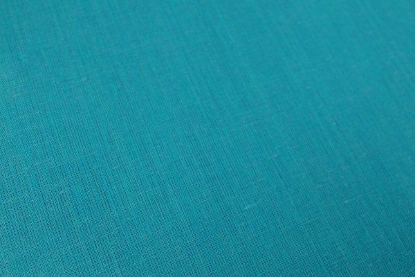 Фото 11 - Ткань льняная, ширина 260 см, лён 100 % бирюзовая меланжевая.