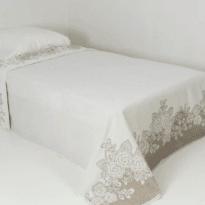 """Фото 119 - Простыня махровая """"Ариэль"""" со льном 208х150см."""