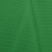 Фото 12 - Ткань вафельная зеленая.