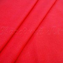 Фото 4 - Ткань льняная умягченная красная лен 100%.