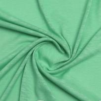 Фото 9 - Льняной трикотаж цвет мяты, лён 100 %.