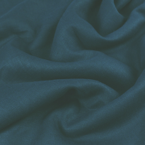 Фото 19 - Ткань льняная  умягченная светло-синяя лен-100%.
