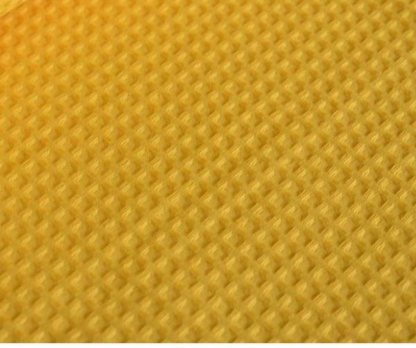 """Фото 3 - Вафельное полотно """"Домашнее""""  (ярко-желтое)."""