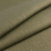 Фото 13 - Ткань льняная  цвет табака, умягченная лен 100%.