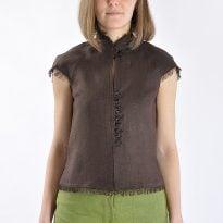 Фото 3 - Блуза льняная 001.