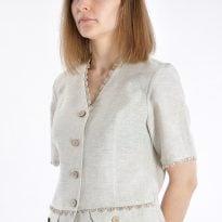 Фото 15 - Блуза льняная 011.