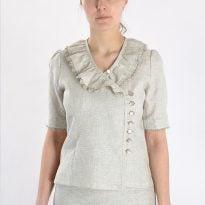 Фото 16 - Блуза льняная 012.