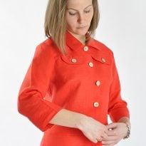 Фото 6 - Блуза льняная 002-01.