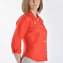 Фото 5 - Блуза льняная 002.