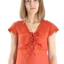 Фото 9 - Блуза льняная 005.