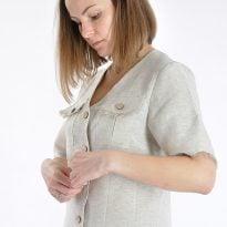 Фото 12 - Блуза льняная 008.