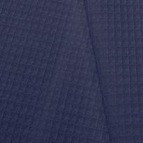 Фото 7 - Ткань вафельная темно-синяя.