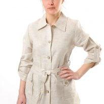 Фото 16 - Рубашка женская льняной.