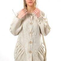 Фото 15 - Куртка-ветровка льняная женская 002.