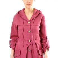 Фото 13 - Куртка льняная женская 003.