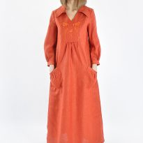 Фото 12 - Платье льняное 003.