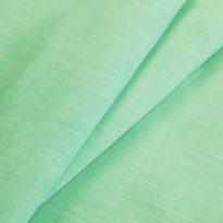 Фото 12 - Ткань льняная сорочечная, лён 100%, меланж мятная.