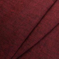 """Фото 13 - Ткань льняная с эффектом """"мятости"""" цвета вишни меланжевая."""