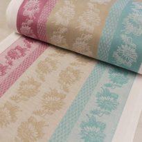 """Фото 15 - ткань льняная для полотенец """"Подсолнухи"""" ширина 50 см."""
