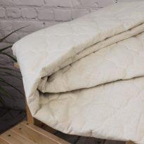 Фото 16 - Одеяло стеганое с льняным наполнитетелем 150г/м мелкая стежка.